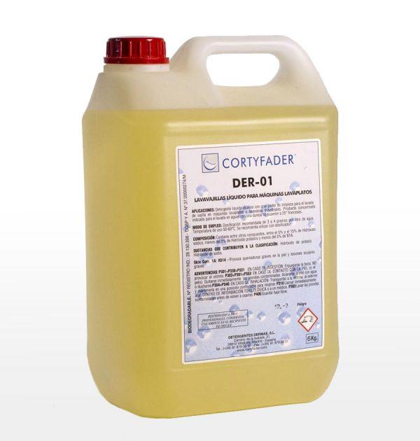 detergente líquido cortyfader DER-01