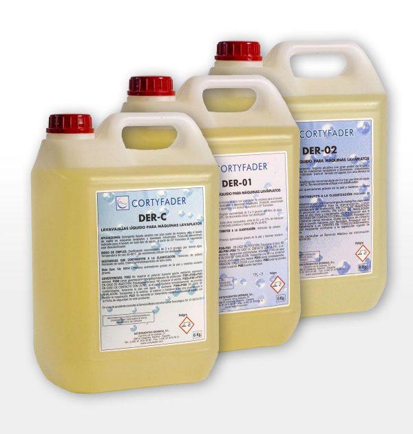 detergente líquido cortyfader DER-C